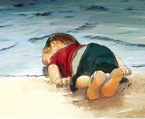 Dibujos-homenaje-niño-Siria-7